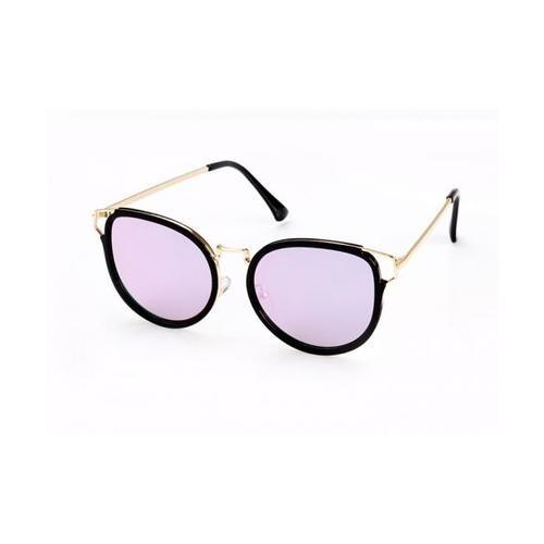 USUPSO แว่นตากันแดดผู้หญิง  Trend Cat Ear สีดำ