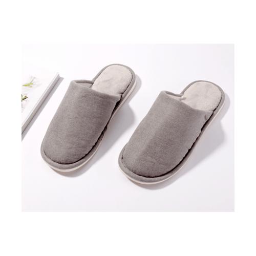 USUPSO รองเท้าสลิปเปอร์ ขนนุ่ม   No.43-44  สีเทา
