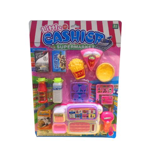 Sanook&Toys ชุดของเล่นซุปเปอร์มาร์เก็ต 298793 สีขาว