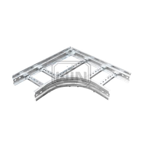 WIN โค้งฉากเคเบิ้ลแลดเดอร์ 300x100 mm.  ชุบ Hot-Dip Galvanized