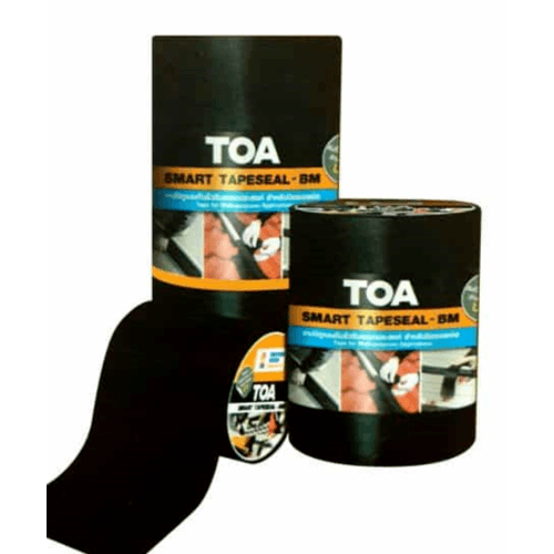 TOA ทีโอเอ สมาร์ท เทปซีล-บีเอ็ม #30ซม. X 3ม. - สีดำ