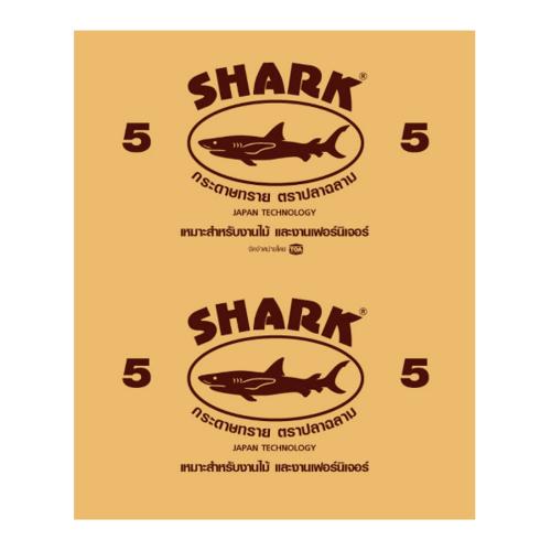 TOA Shark กระดาษทรายขัดแห้ง  KACS  # 0005