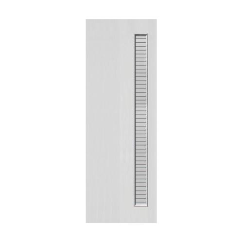 ECODOOR ประตู UPVC เกล็ดข้าง  70x200 ซม.  UVC  สีขาว