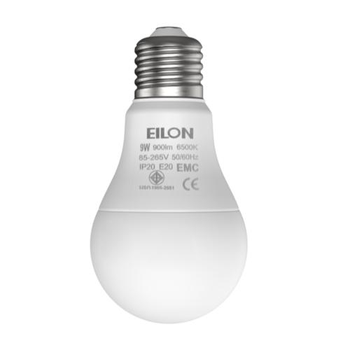EILON หลอดแอลอีดีบัลบ์ Premier 9W 6500K เดย์ไลท์ สีขาว