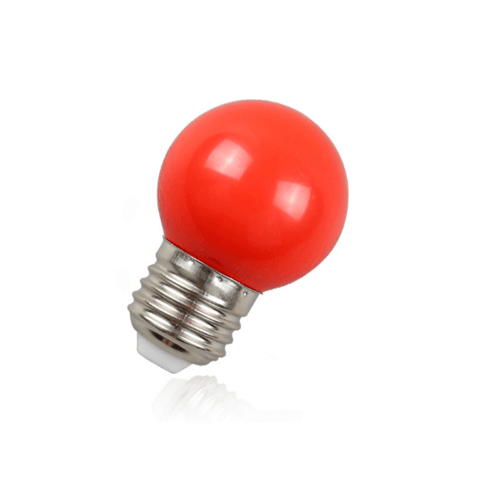 EILON หลอดปิงปอง 1.5 W BL-G45-Y001 สีแดง