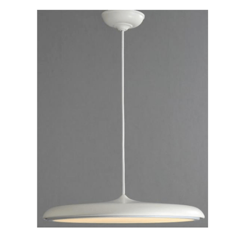 EILON โคมไฟแขวนโมเดิร์น 24W  KDD0006/400 white สีขาว