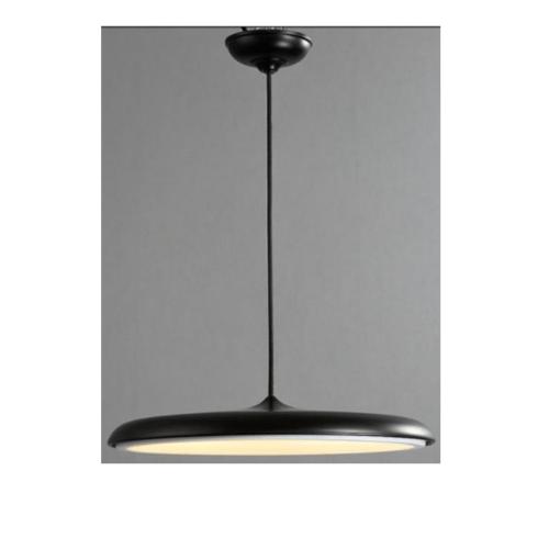 EILON โคมไฟแขวนโมเดิร์น 24W  KDD0006/400 black สีดำ