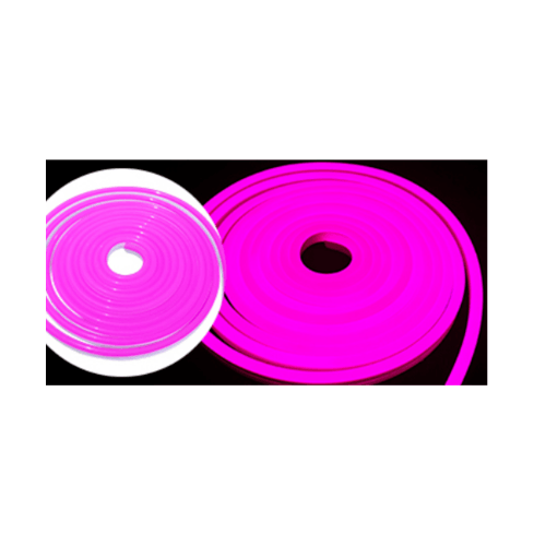 EILON แอลอีดีนีออน  เฟล็กซ์ 5 เมตร สีชมพู