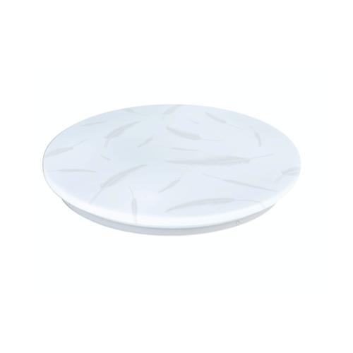EILON โคมไฟเพดานอะคริลิค GJXD350P3-2*24W คูลไวท์  สีขาว
