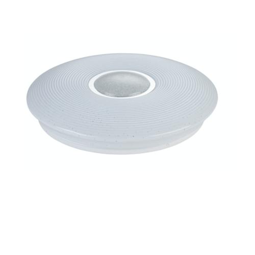 EILON โคมไฟเพดานอะคริลิค GJXD350S1-2*24W คูลไวท์  สีขาว