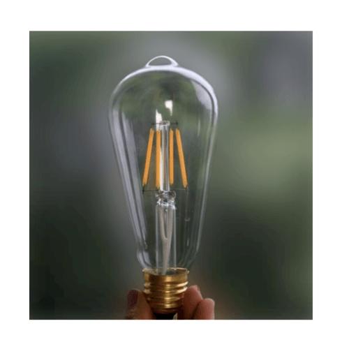 EILON หลอด LED ฟิลาเมนต์ Edison E27 6 วัตต์  GY-ST64