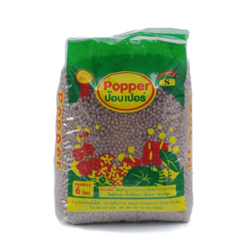 Popper  เม็ดดินเผามวลเบา ไซส์ S 6 ลิตร - สีน้ำตาล