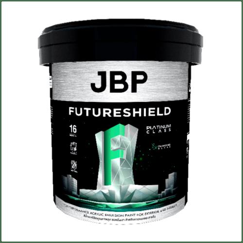 JBP สีน้ำทาภายนอก FUTURESHIELD SG BASE C 2.5GL สีขาว