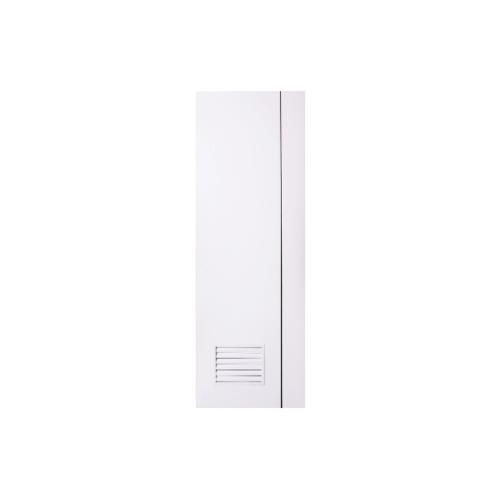 Polywood ประตู PVC ขนาด  80x200 เจาะ M-Series PM2 สีขาว
