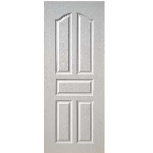 BWOOD ประตู VINYL ขนาด 90x200 (ไม่เจาะ) Eco-Series BEN001 สีขาว