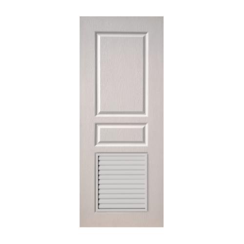 BWOOD ประตู VINYL  Eco series ขนาด 70x200  เจาะ      BEL002 สีขาว