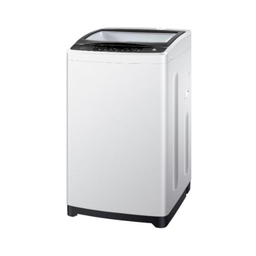 Haier เครื่องซักผ้าฝาบน 8 กก.   HWM80-1708T สีเทาอ่อน