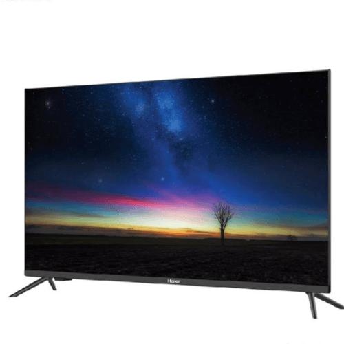 HAIER ทีวี 65 นิ้ว LED 4K UHD Android 9.0 LE65K8000UA สีดำ