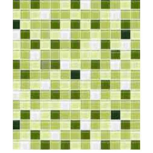 Cotto โมเสค 12x12  กลาส เบลนด์ 04 A. สีเขียว