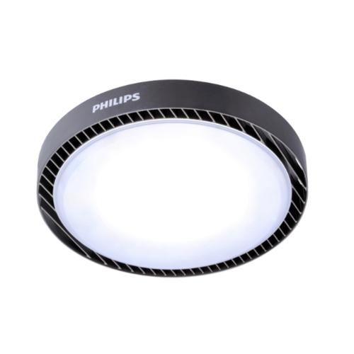 PHILIPS โคมไฟไฮเบย์แอลอีดี  BY239 145W แสงขาว สีดำ