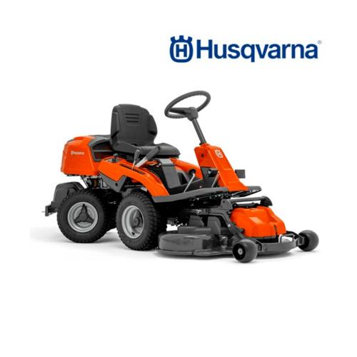 HUSQVARNA  รถตัดหญ้านั่งขับ   R213C สีส้มดำ