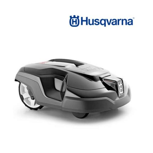 HUSQVARNA  หุ่นยนต์ตัดหญ้าอัตโนมัติ  AM315 สีดำ