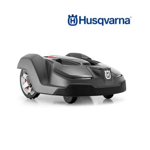 HUSQVARNA  หุ่นยนต์ตัดหญ้าอัตโนมัติ  450X สีดำ