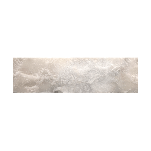 หินธรรมชาติ 5x20 หินอ่อนขาวเทา ผิวหน้าธรรมชาติ  NSD-NQ-001-0520  สีขาว