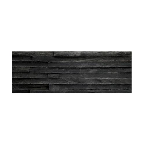 หินธรรมชาติ 10x30 สันหินกาบน้ำตก  NSD-GSD-002-1030  สีดำ