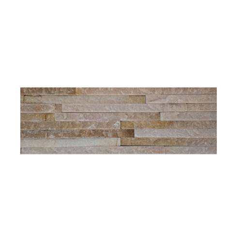 หินธรรมชาติ 10x30 สันหินกาบน้ำตก ชมพูลาย   NSD-GSD-003-1030