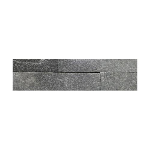 หินธรรมชาติ 7x30 หิบกาบจิ๊กซอดำประกาย  NSD-GSE-008-0730