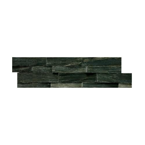 หินธรรมชาติ 15x60 หินกาบจิ๊กซอเขียวเปลือกไม้  NSD-GSE-011-1560