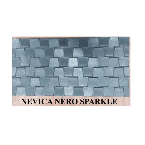 กระเบื้องภชา กระเบื้องแกรนิตโต้ 30x60 (8P) A. NEVICA NERO SPARKLE สีดำ