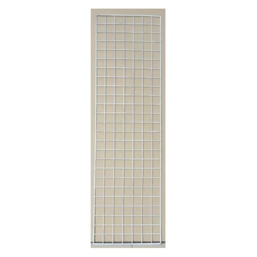 Delicato ตะแกรงชุบ ขนาด 30x100x1ซม. สีขาว