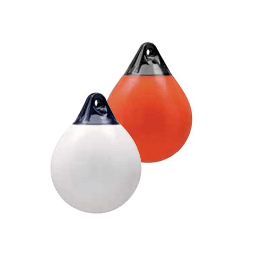 EVAL  ลูกยางกันกระแทกข้างเรือ ทรงกลม 57.5x46cm  A-3 สีส้ม-น้ำเงิน สีส้ม
