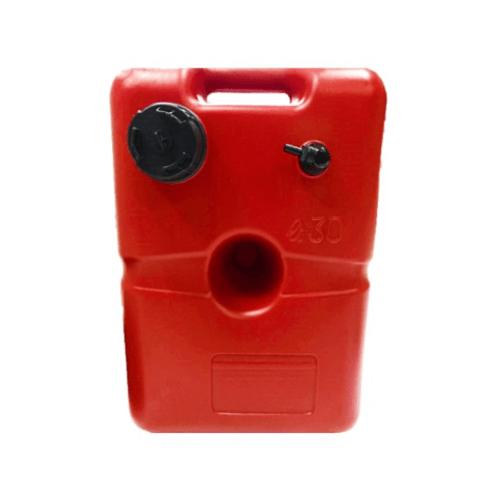 EVAL  ถังบรรจุน้ำมัน ขนาด30 ลิตร L49xW33xH27cm    00820-30  สีแดง