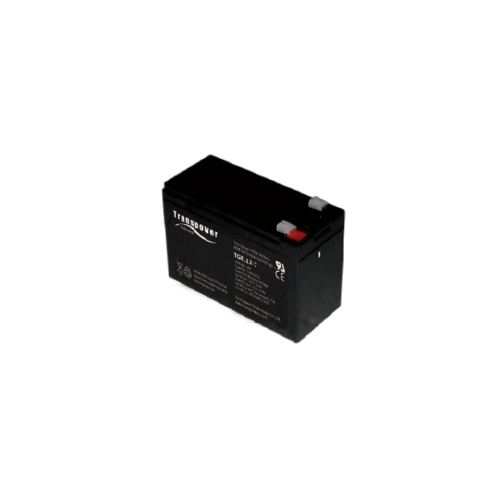 Transpower แบตเตอรี่ TGEL12-7.2 สีดำ