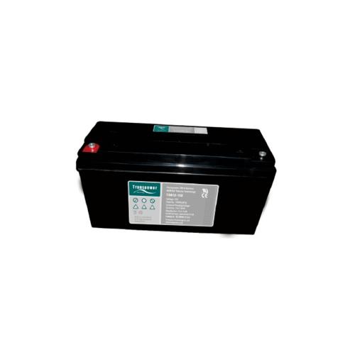 Transpower แบตเตอรี่ TDB12-150 สีดำ
