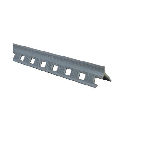 NTS PLUZ เซี้ยม พีวีซี  ขนาด 8 มม. ยาว 2 เมตร สีเทา