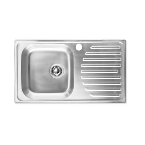HAFELE อ่างล้างจาน1หลุม1ที่พัก  567.10.012 สเตนเลส