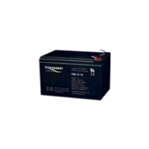Transpower แบตเตอรี่ TGB12-12 สีดำ