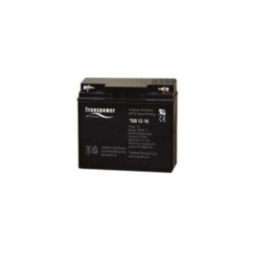 Transpower แบตเตอรี่ TGB12-18 สีดำ
