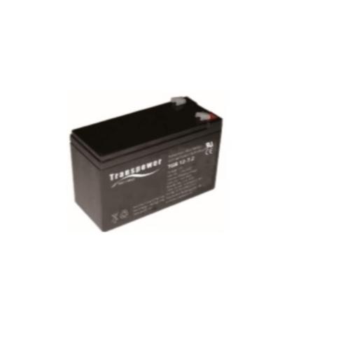 Transpower แบตเตอรี่ TGB12-7.2 สีดำ