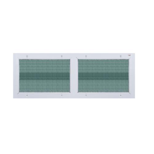 A-Plus ช่องลมบานซ้อน (พร้อมมุ้ง) ขนาด 120x45 cm. A-P/015