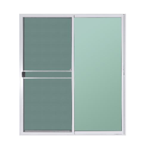 A-Plus ประตูบานเลื่อนสลับ ขนาด 160x205 ซม. A-DS/007 ขาว