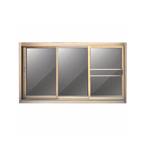 A-Plus หน้าต่างอลูมิเนียมบานเลื่อน ขนาด 1.80 x 1.08 ม. พร้อมมุ้ง SFS Like-005