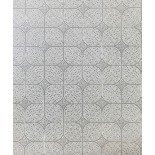 Lisse ฝ้ายิปซัม ทีบาร์ 60x60 ซม.  เงินมีโชค (ซิลเวอร์) (10แผ่น/กล่อง) สีขาว