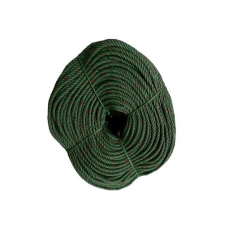 Global house เชือกไนล่อน สีขี้ม้า 9 มม. NLR-06G สีเขียว