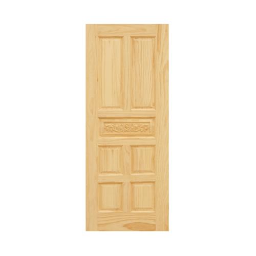 D2D ประตูไม้สนนิวซีแลนด์ ขนาด 80x200 ซม. Eco Pine-011
