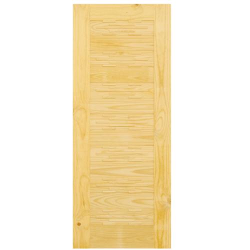 D2D ประตูไม้สนนิวซีแลนด์ ขนาด 90x200 ซม. Eco Pine - 114